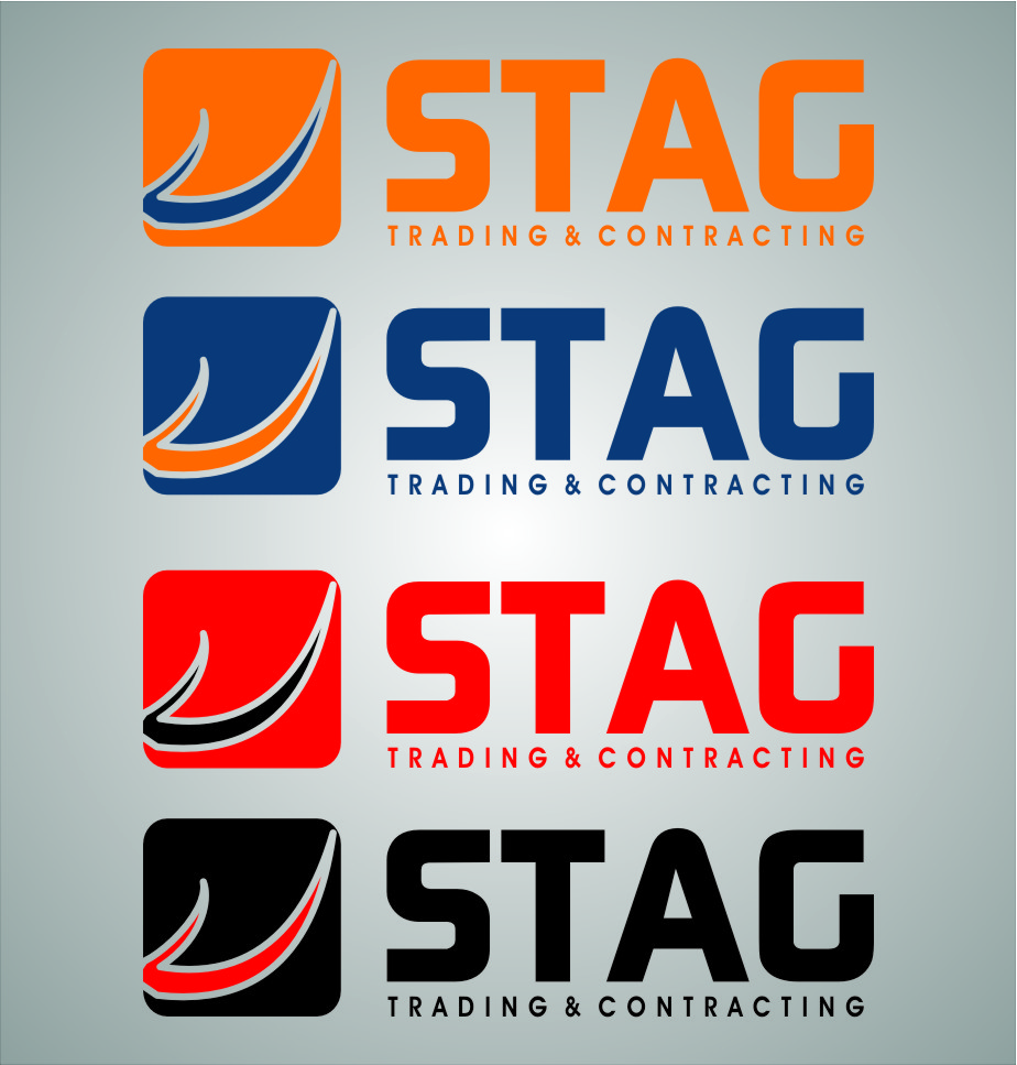 Logo Design by RasYa Muhammad Athaya - Entry No. 203 in the Logo Design Contest Captivating Logo Design for STAG Trading & Contracting.
