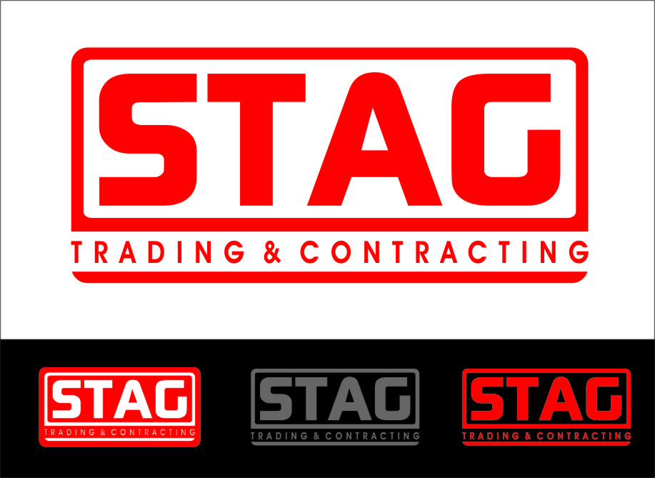 Logo Design by Ngepet_art - Entry No. 204 in the Logo Design Contest Captivating Logo Design for STAG Trading & Contracting.