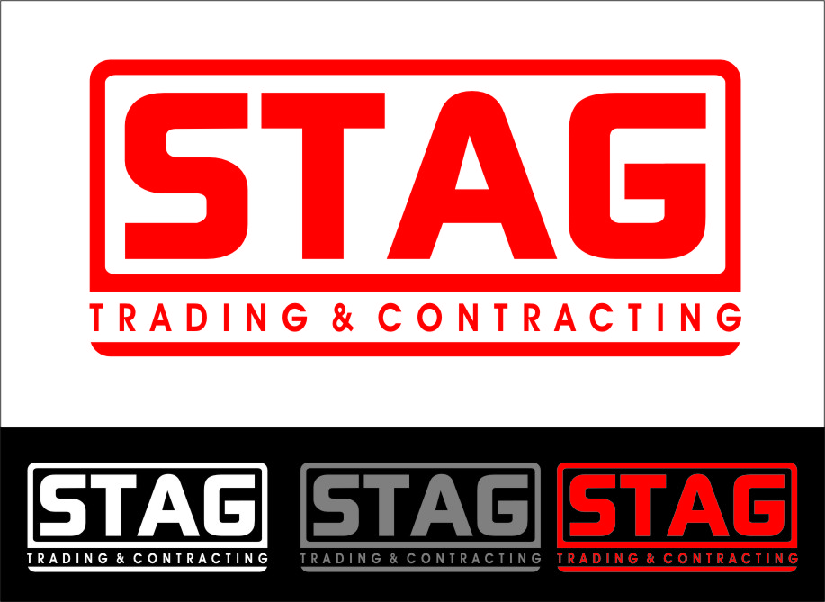 Logo Design by Ngepet_art - Entry No. 205 in the Logo Design Contest Captivating Logo Design for STAG Trading & Contracting.