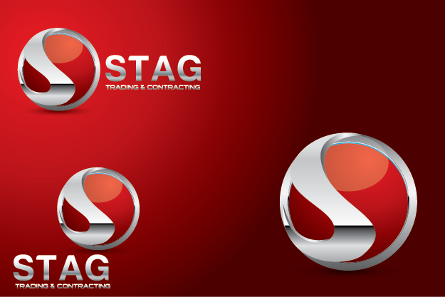 Logo Design by Private User - Entry No. 206 in the Logo Design Contest Captivating Logo Design for STAG Trading & Contracting.
