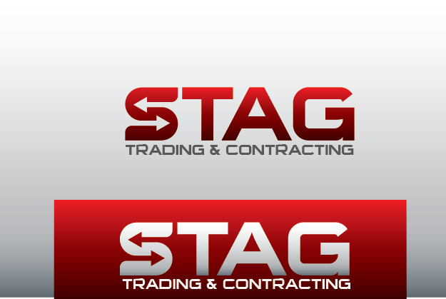 Logo Design by Private User - Entry No. 207 in the Logo Design Contest Captivating Logo Design for STAG Trading & Contracting.