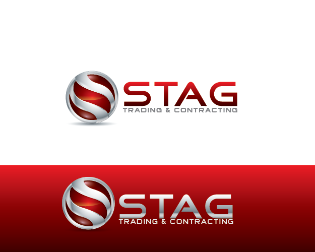 Logo Design by Private User - Entry No. 208 in the Logo Design Contest Captivating Logo Design for STAG Trading & Contracting.