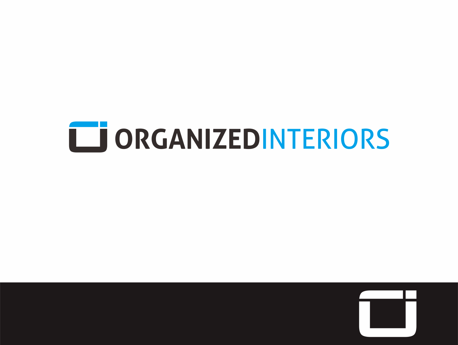 Logo Design by Armada Jamaluddin - Entry No. 54 in the Logo Design Contest Imaginative Logo Design for Organized Interiors.