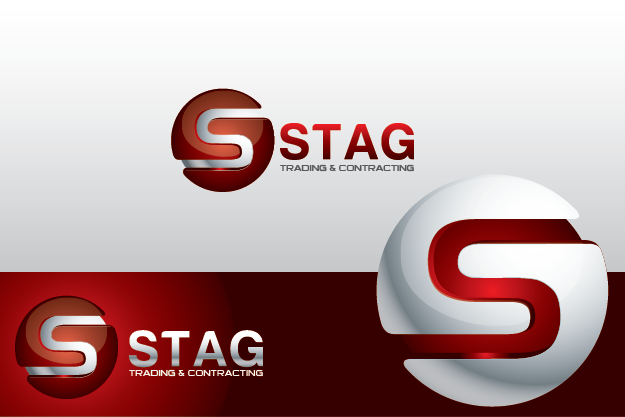 Logo Design by Private User - Entry No. 209 in the Logo Design Contest Captivating Logo Design for STAG Trading & Contracting.