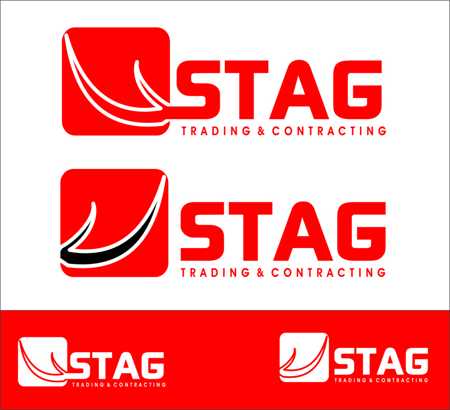Logo Design by RoSyid Rono-Rene On Java - Entry No. 210 in the Logo Design Contest Captivating Logo Design for STAG Trading & Contracting.