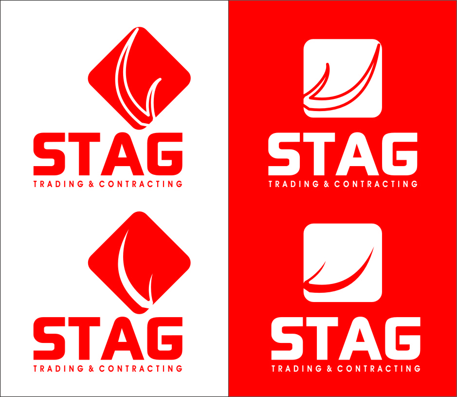 Logo Design by Ngepet_art - Entry No. 211 in the Logo Design Contest Captivating Logo Design for STAG Trading & Contracting.