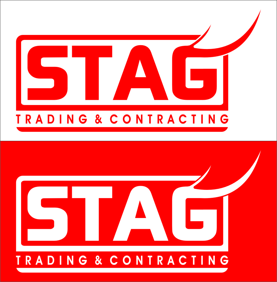 Logo Design by RoSyid Rono-Rene On Java - Entry No. 212 in the Logo Design Contest Captivating Logo Design for STAG Trading & Contracting.