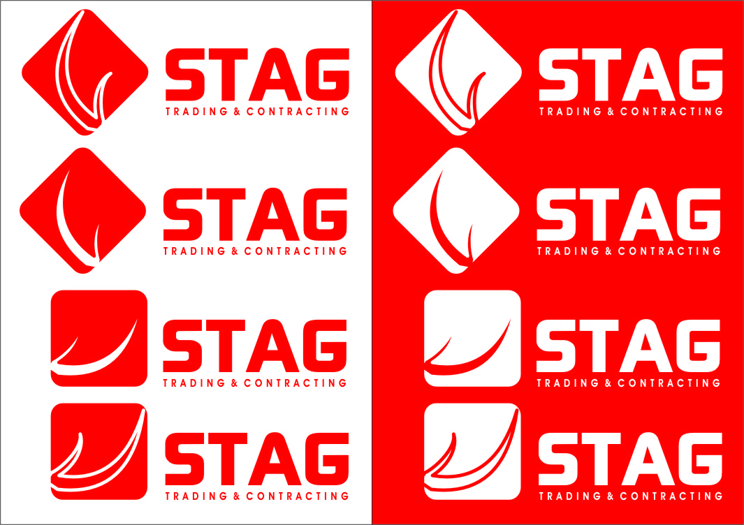 Logo Design by Ngepet_art - Entry No. 213 in the Logo Design Contest Captivating Logo Design for STAG Trading & Contracting.