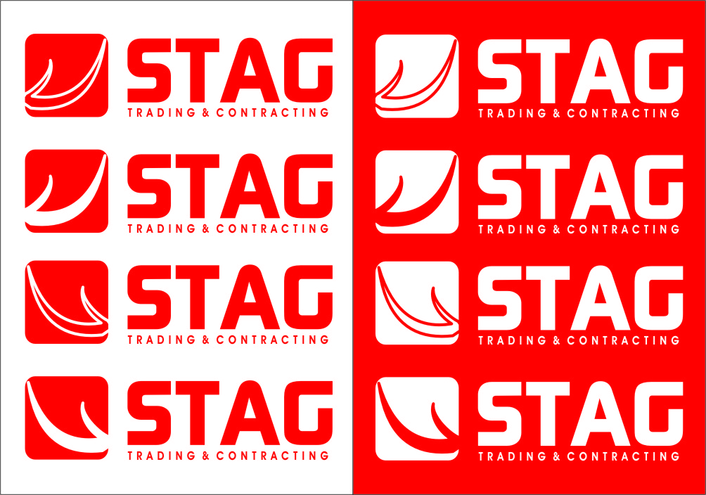 Logo Design by RoSyid Rono-Rene On Java - Entry No. 216 in the Logo Design Contest Captivating Logo Design for STAG Trading & Contracting.