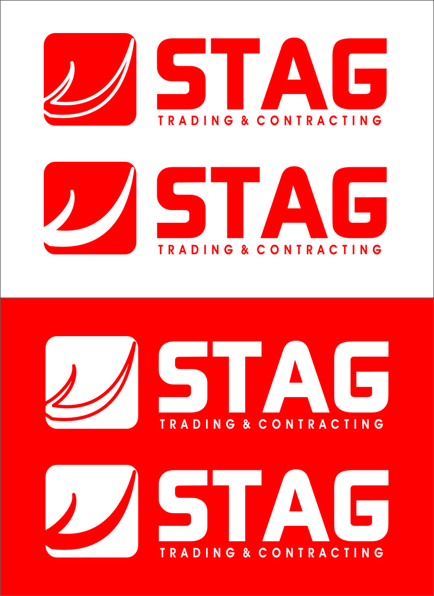 Logo Design by Ngepet_art - Entry No. 217 in the Logo Design Contest Captivating Logo Design for STAG Trading & Contracting.