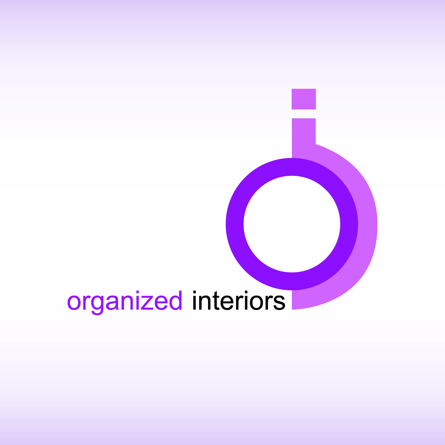 Logo Design by Ricky Frutos - Entry No. 55 in the Logo Design Contest Imaginative Logo Design for Organized Interiors.