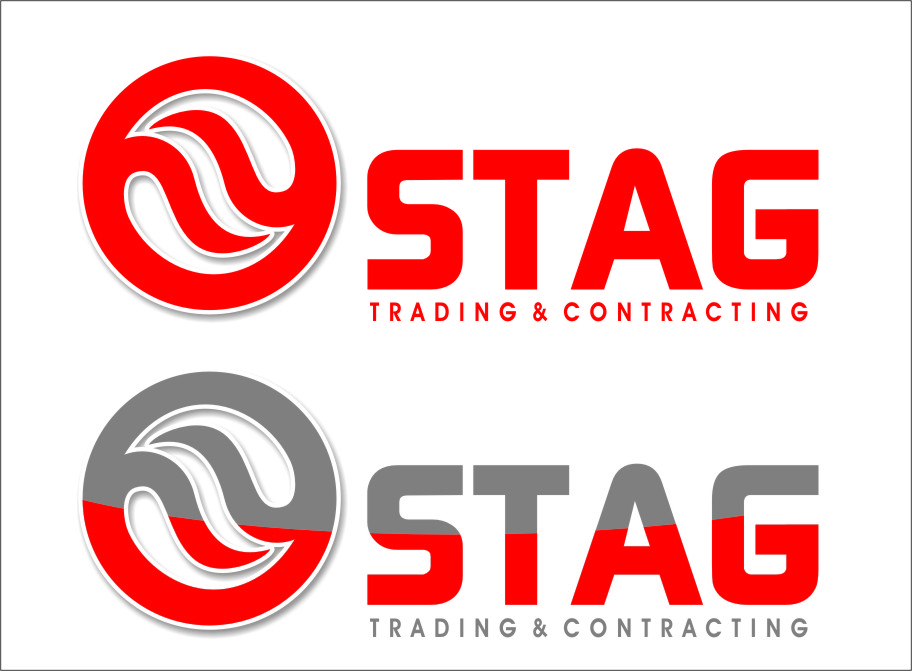 Logo Design by RasYa Muhammad Athaya - Entry No. 219 in the Logo Design Contest Captivating Logo Design for STAG Trading & Contracting.