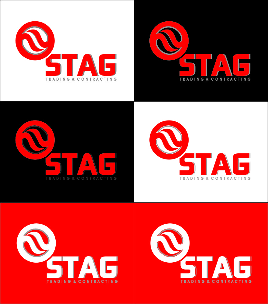 Logo Design by RasYa Muhammad Athaya - Entry No. 221 in the Logo Design Contest Captivating Logo Design for STAG Trading & Contracting.