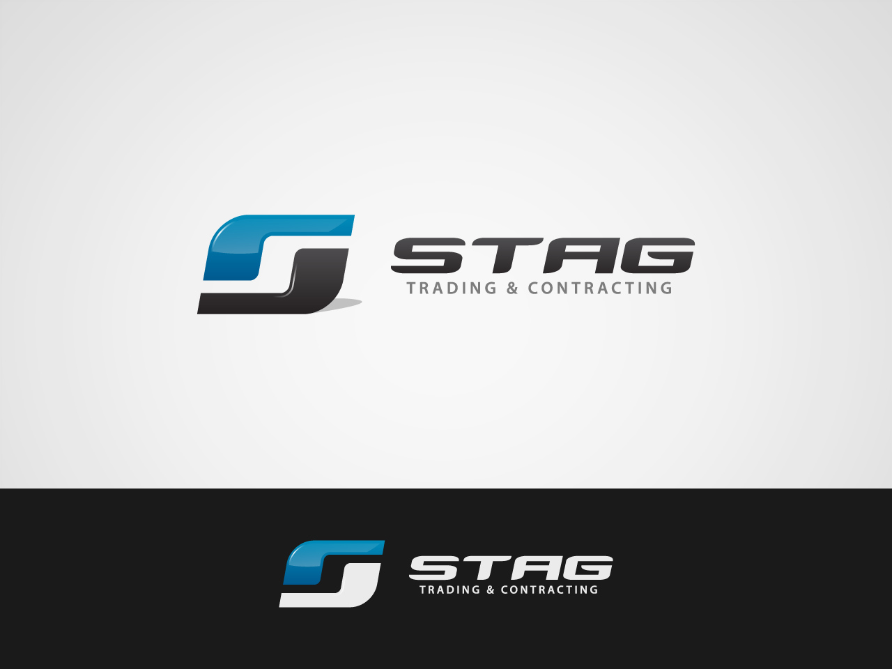 Logo Design by jpbituin - Entry No. 222 in the Logo Design Contest Captivating Logo Design for STAG Trading & Contracting.