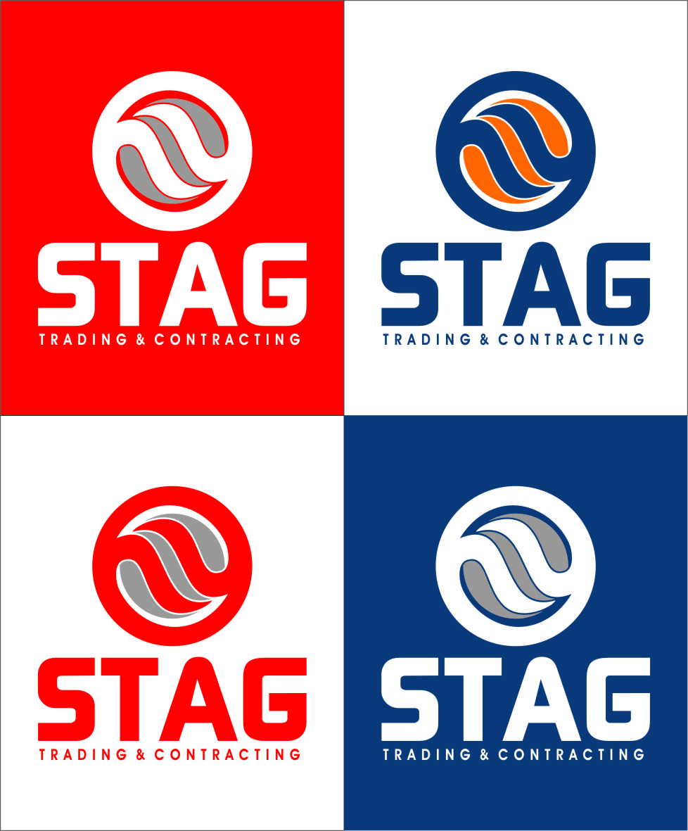 Logo Design by Ngepet_art - Entry No. 223 in the Logo Design Contest Captivating Logo Design for STAG Trading & Contracting.