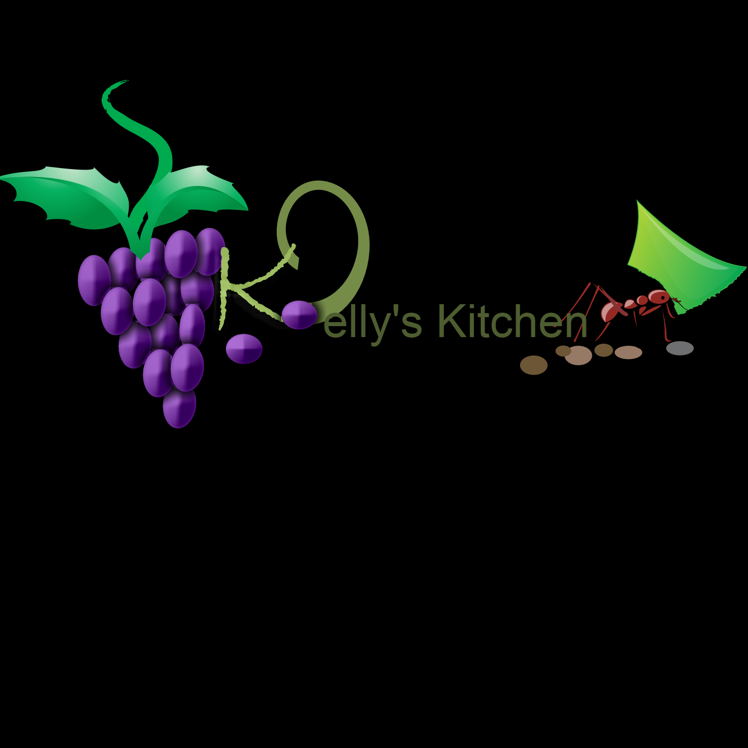 Logo Design by Melanie Fitzpatrick - Entry No. 34 in the Logo Design Contest Unique Logo Design Wanted for Kelly's Kitsch'n.