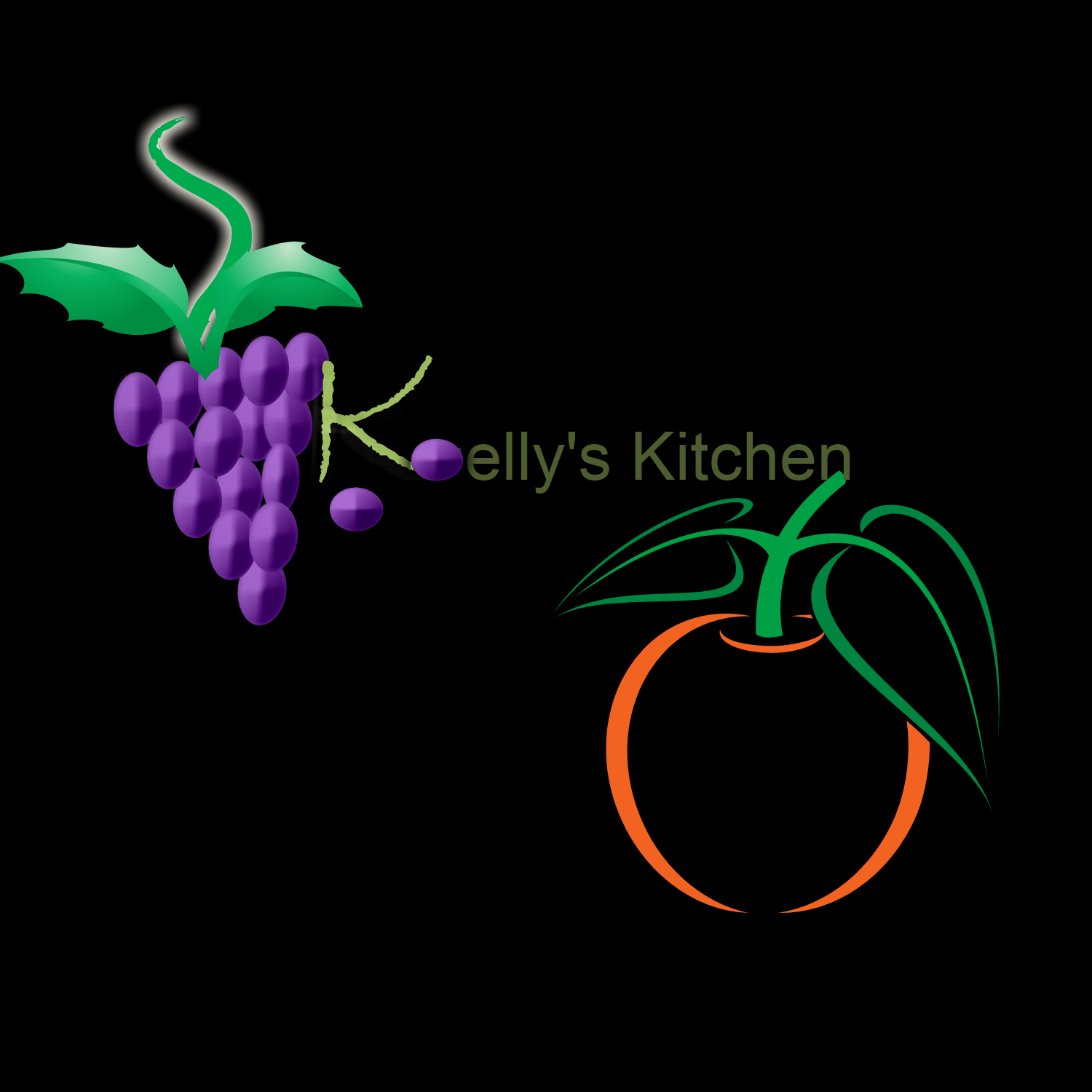Logo Design by Melanie Fitzpatrick - Entry No. 35 in the Logo Design Contest Unique Logo Design Wanted for Kelly's Kitsch'n.
