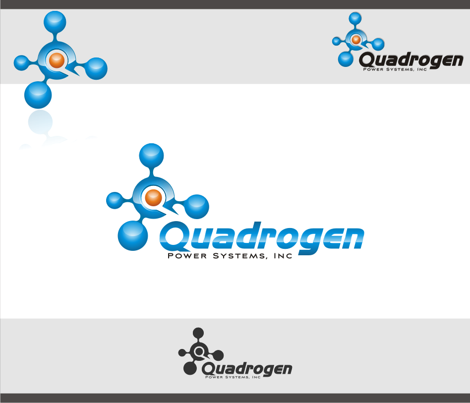 Logo Design by Muhammad Nasrul chasib - Entry No. 120 in the Logo Design Contest New Logo Design for Quadrogen Power Systems, Inc.
