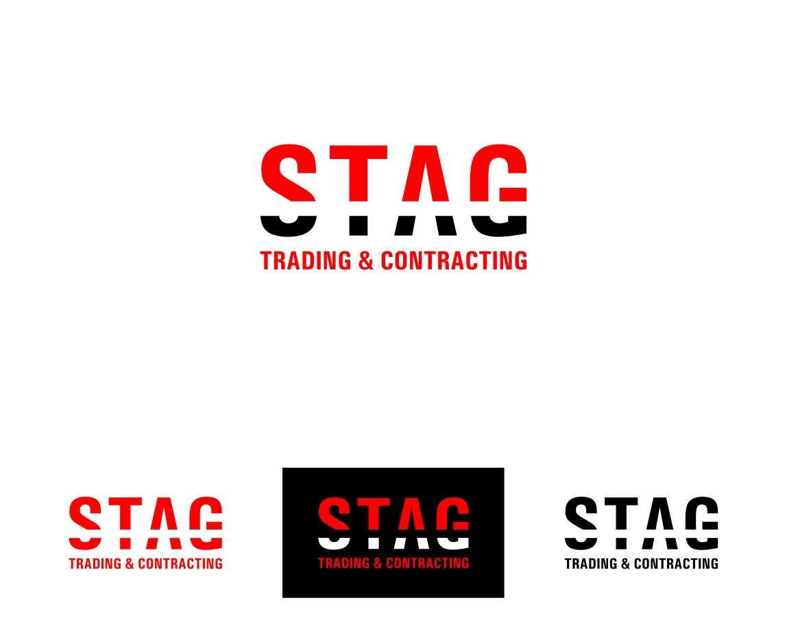 Logo Design by haidu - Entry No. 230 in the Logo Design Contest Captivating Logo Design for STAG Trading & Contracting.
