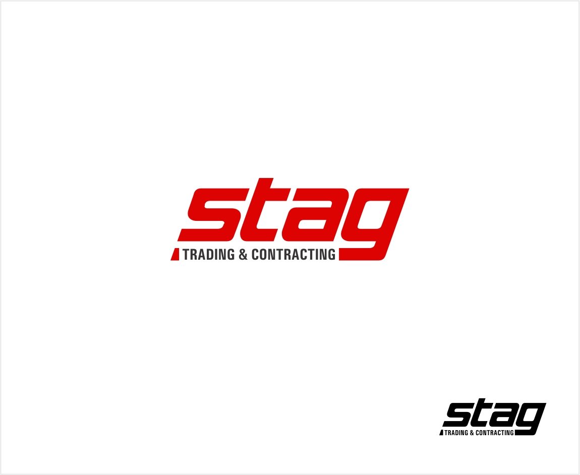 Logo Design by haidu - Entry No. 236 in the Logo Design Contest Captivating Logo Design for STAG Trading & Contracting.