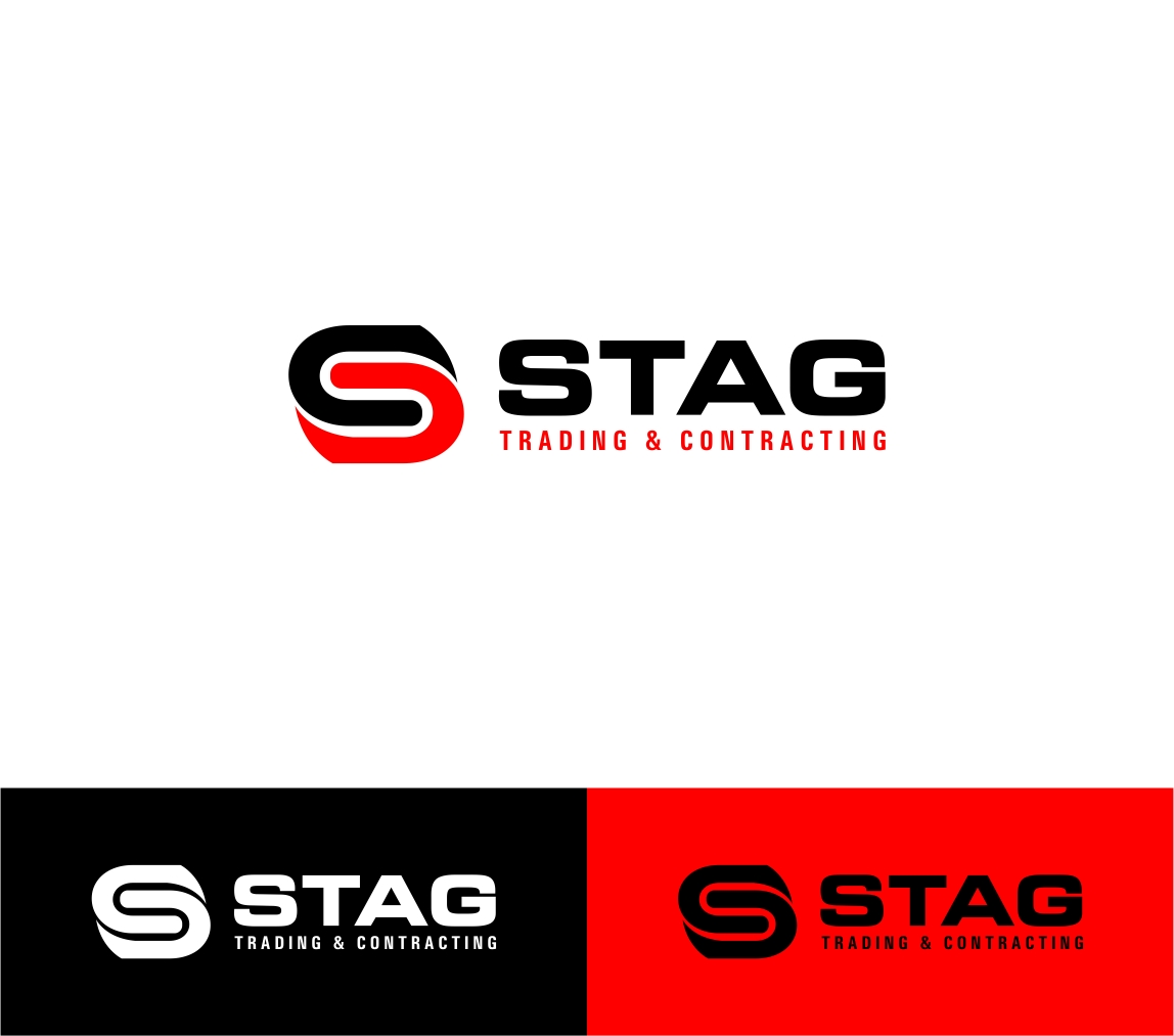 Logo Design by haidu - Entry No. 237 in the Logo Design Contest Captivating Logo Design for STAG Trading & Contracting.