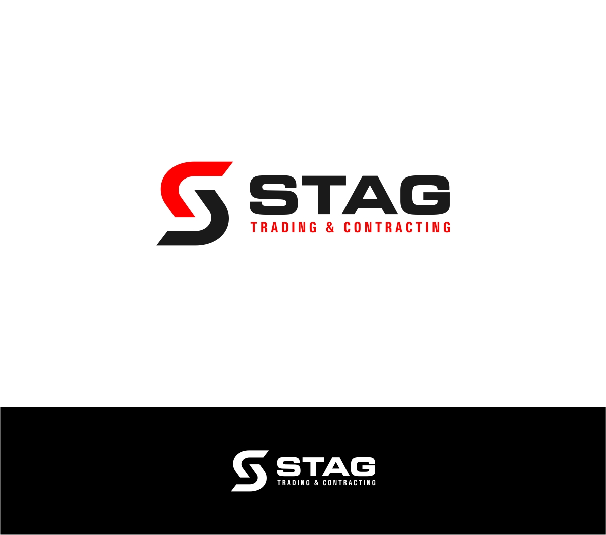 Logo Design by haidu - Entry No. 239 in the Logo Design Contest Captivating Logo Design for STAG Trading & Contracting.