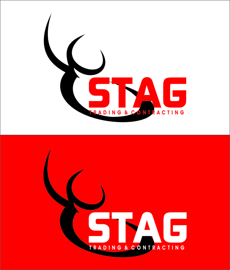 Logo Design by Ngepet_art - Entry No. 241 in the Logo Design Contest Captivating Logo Design for STAG Trading & Contracting.