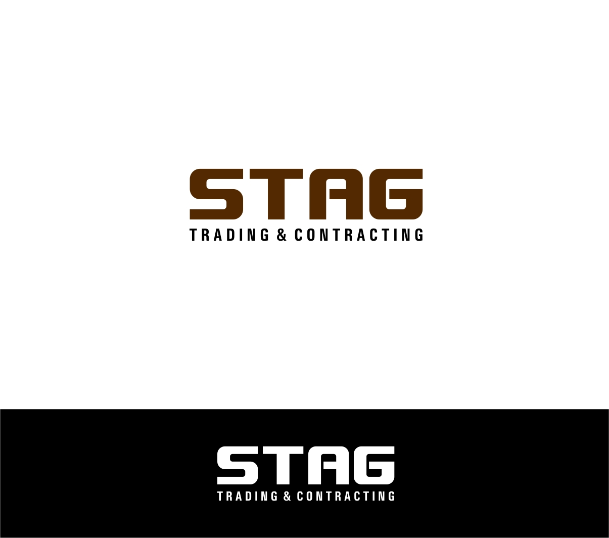 Logo Design by haidu - Entry No. 242 in the Logo Design Contest Captivating Logo Design for STAG Trading & Contracting.