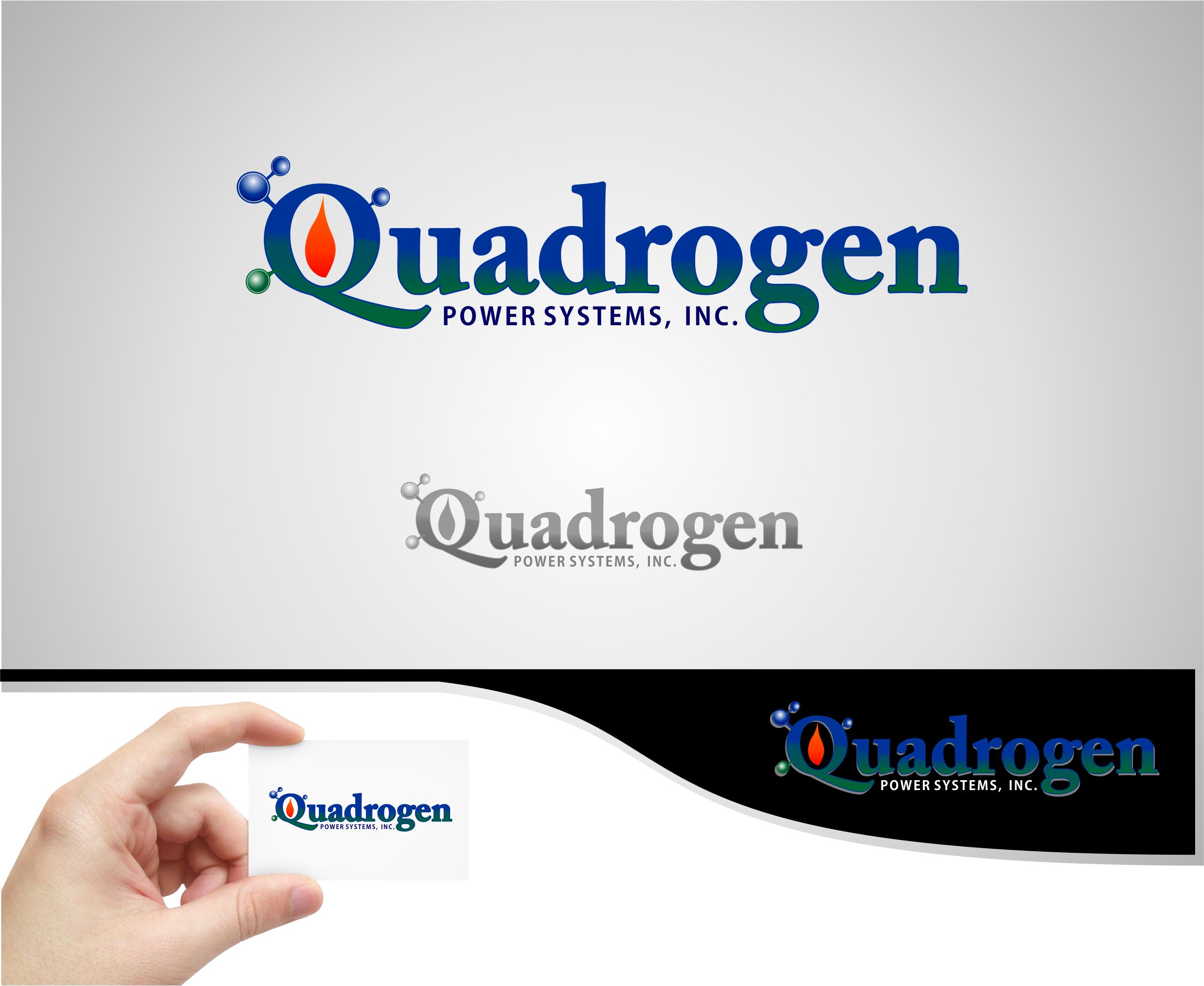 Logo Design by joca - Entry No. 125 in the Logo Design Contest New Logo Design for Quadrogen Power Systems, Inc.
