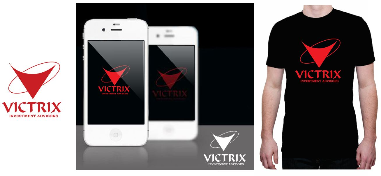 Logo Design by Tenstar Design - Entry No. 49 in the Logo Design Contest Inspiring Logo Design for Victrix Investment Advisors.