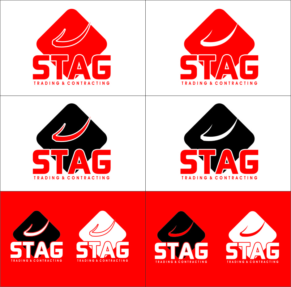 Logo Design by Ngepet_art - Entry No. 245 in the Logo Design Contest Captivating Logo Design for STAG Trading & Contracting.