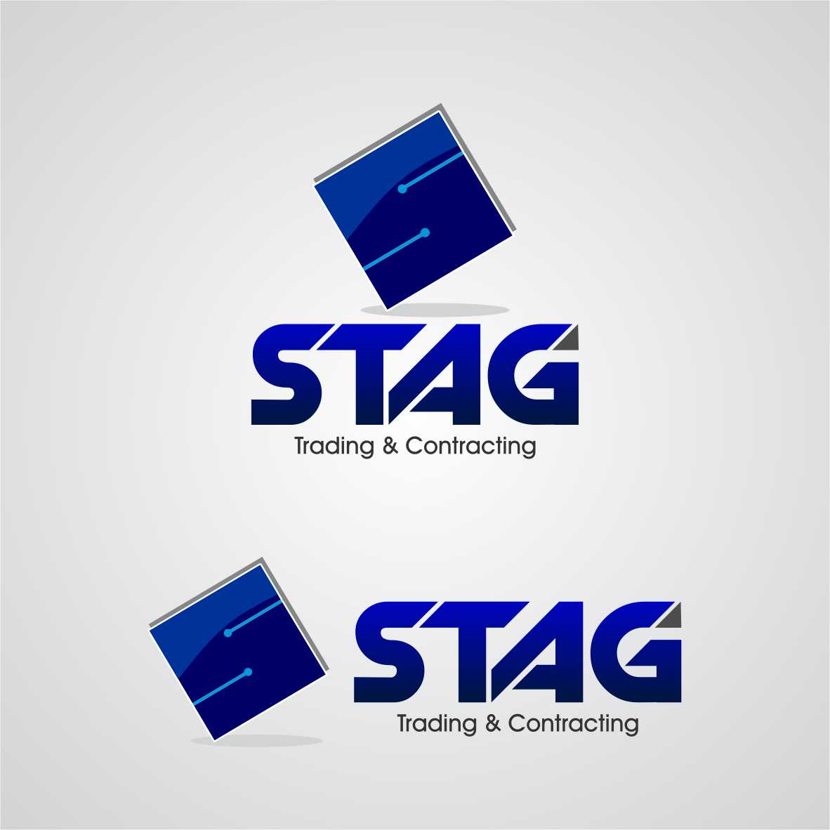 Logo Design by arteo_design - Entry No. 247 in the Logo Design Contest Captivating Logo Design for STAG Trading & Contracting.