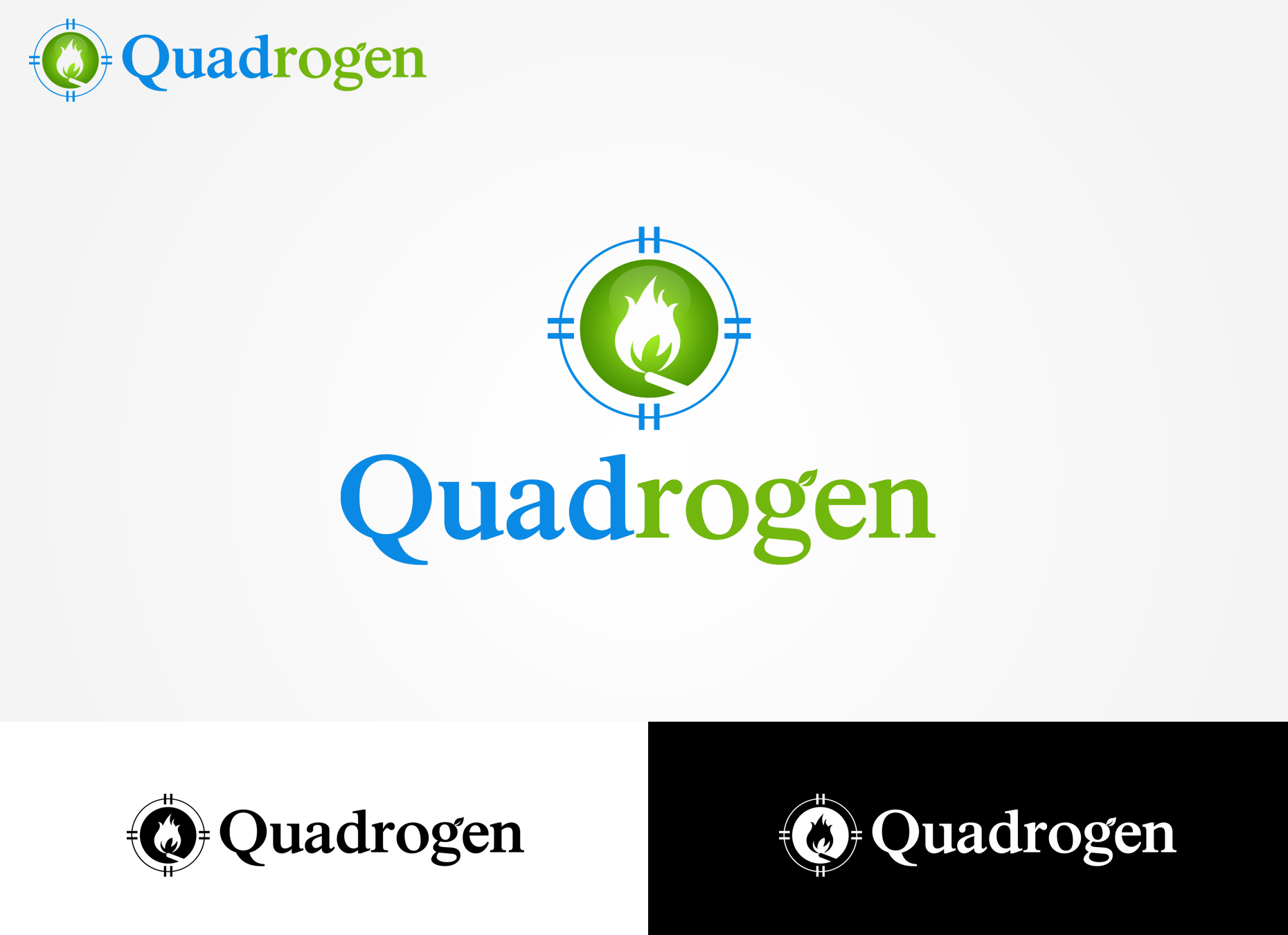 Logo Design by omARTist - Entry No. 128 in the Logo Design Contest New Logo Design for Quadrogen Power Systems, Inc.