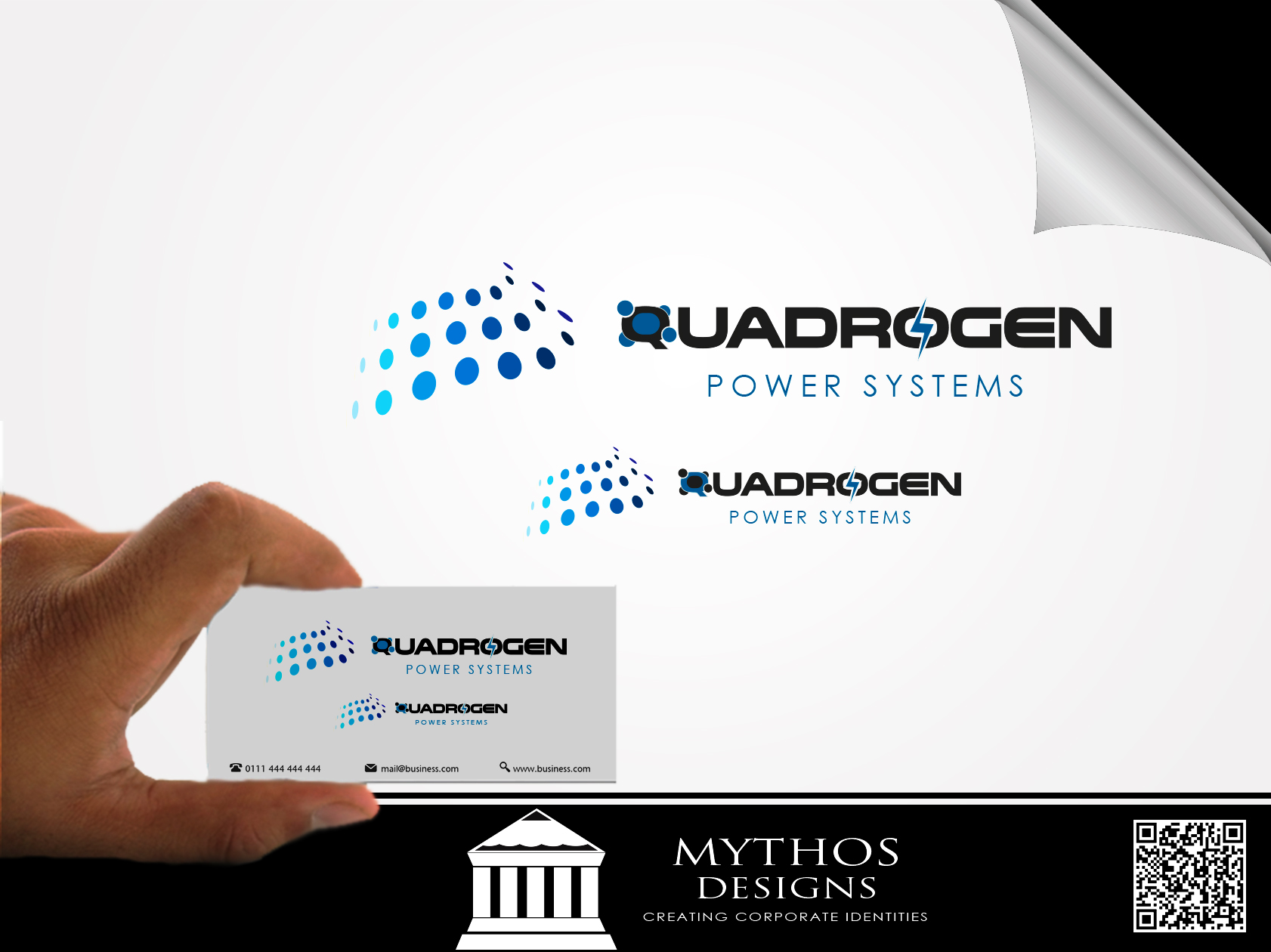 Logo Design by Mythos Designs - Entry No. 129 in the Logo Design Contest New Logo Design for Quadrogen Power Systems, Inc.