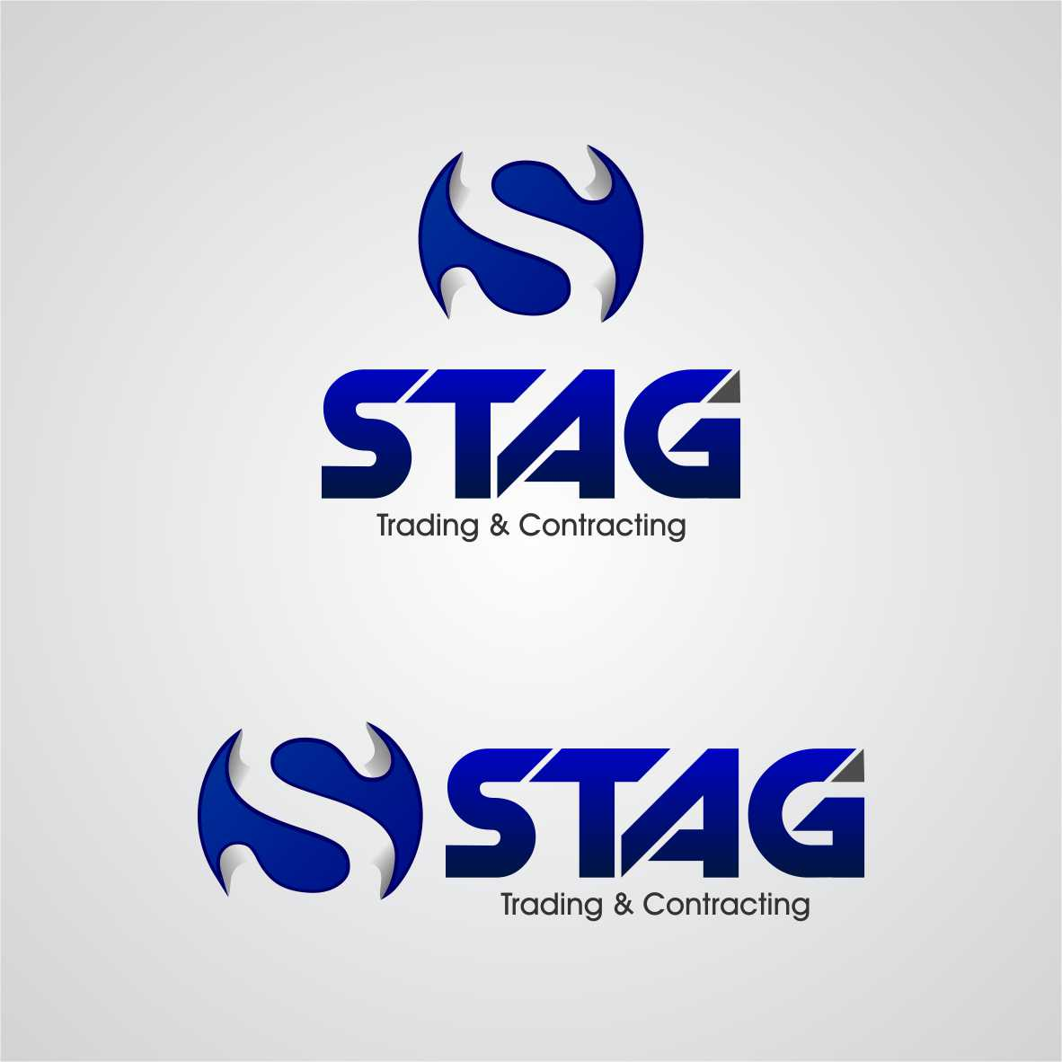 Logo Design by arteo_design - Entry No. 250 in the Logo Design Contest Captivating Logo Design for STAG Trading & Contracting.