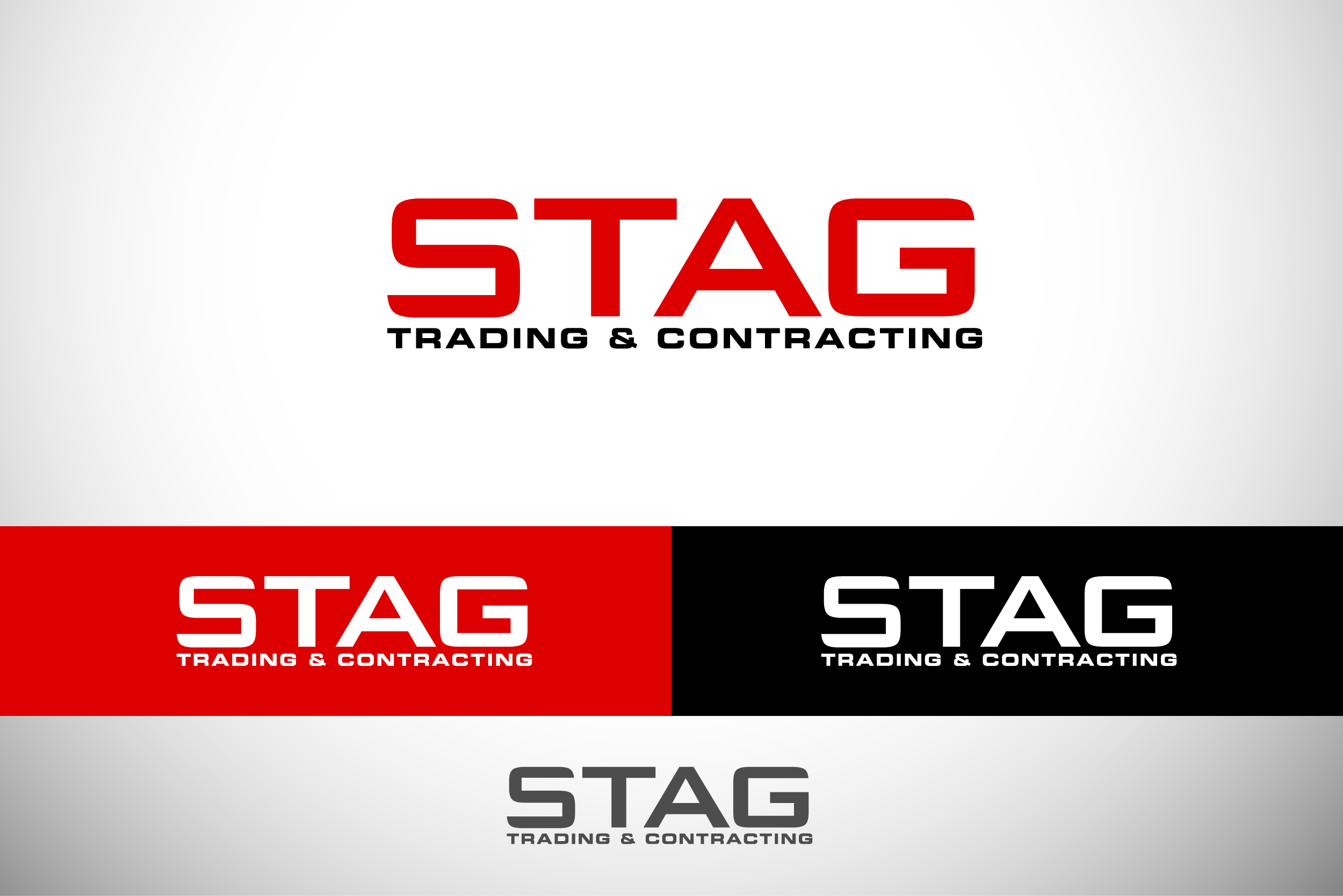 Logo Design by Private User - Entry No. 253 in the Logo Design Contest Captivating Logo Design for STAG Trading & Contracting.