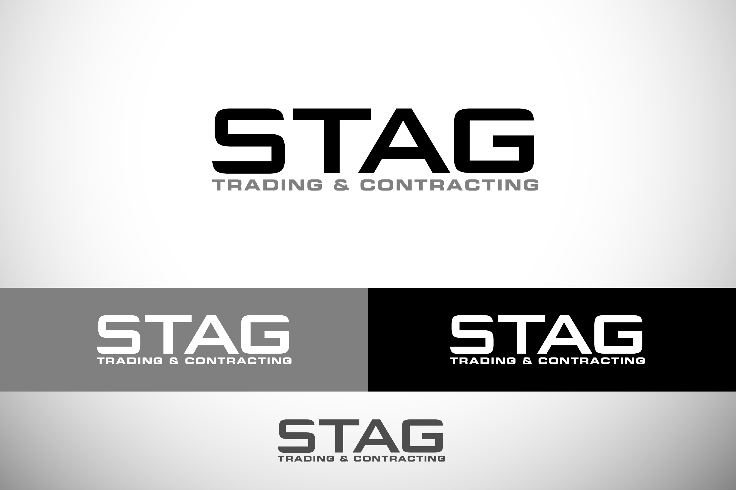 Logo Design by Private User - Entry No. 254 in the Logo Design Contest Captivating Logo Design for STAG Trading & Contracting.