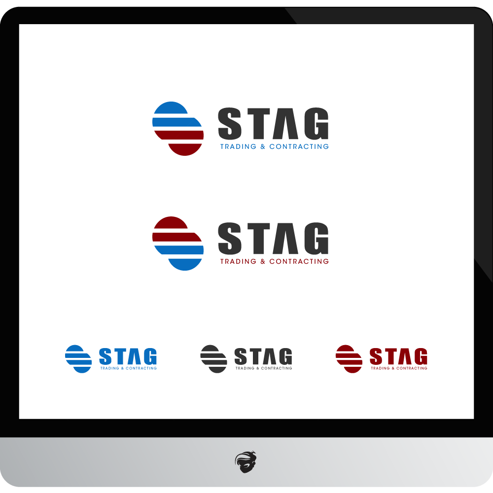 Logo Design by zesthar - Entry No. 255 in the Logo Design Contest Captivating Logo Design for STAG Trading & Contracting.