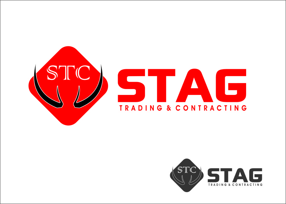 Logo Design by Ngepet_art - Entry No. 256 in the Logo Design Contest Captivating Logo Design for STAG Trading & Contracting.