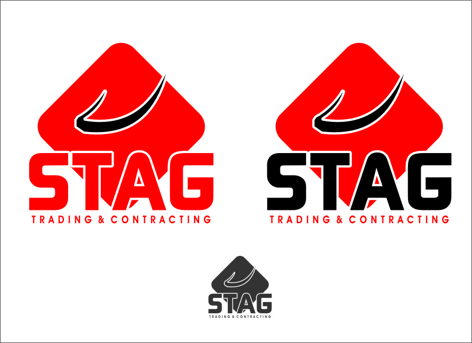 Logo Design by RasYa Muhammad Athaya - Entry No. 257 in the Logo Design Contest Captivating Logo Design for STAG Trading & Contracting.