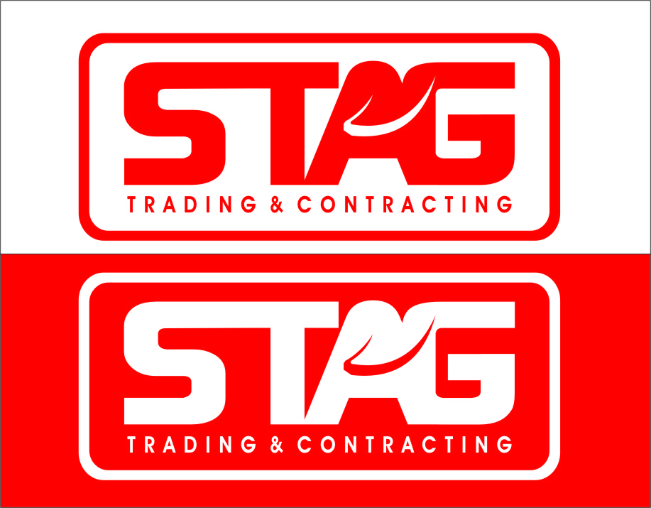 Logo Design by RasYa Muhammad Athaya - Entry No. 259 in the Logo Design Contest Captivating Logo Design for STAG Trading & Contracting.