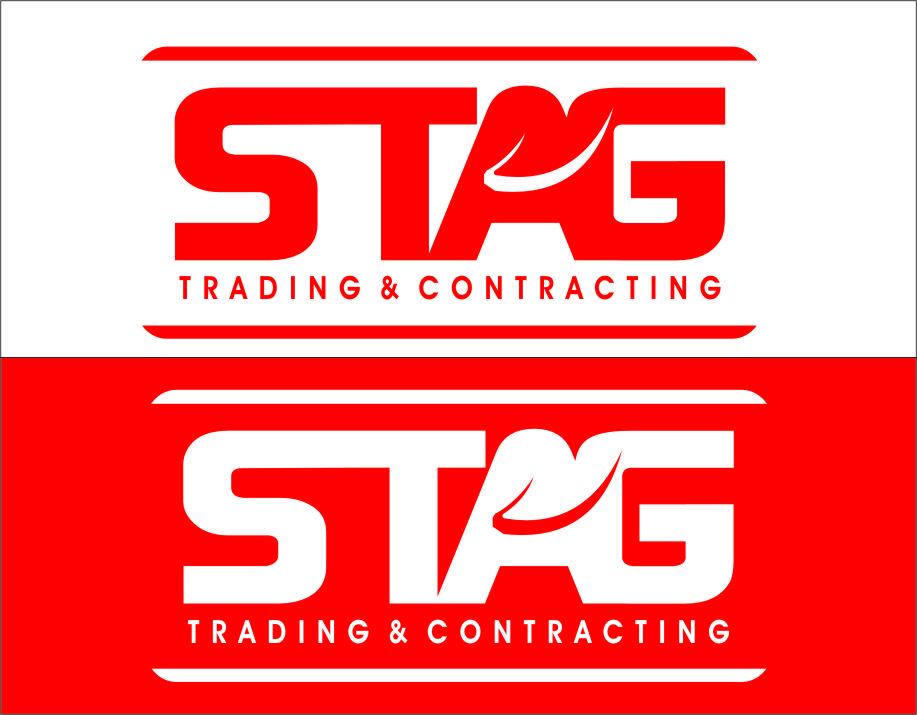 Logo Design by RasYa Muhammad Athaya - Entry No. 260 in the Logo Design Contest Captivating Logo Design for STAG Trading & Contracting.