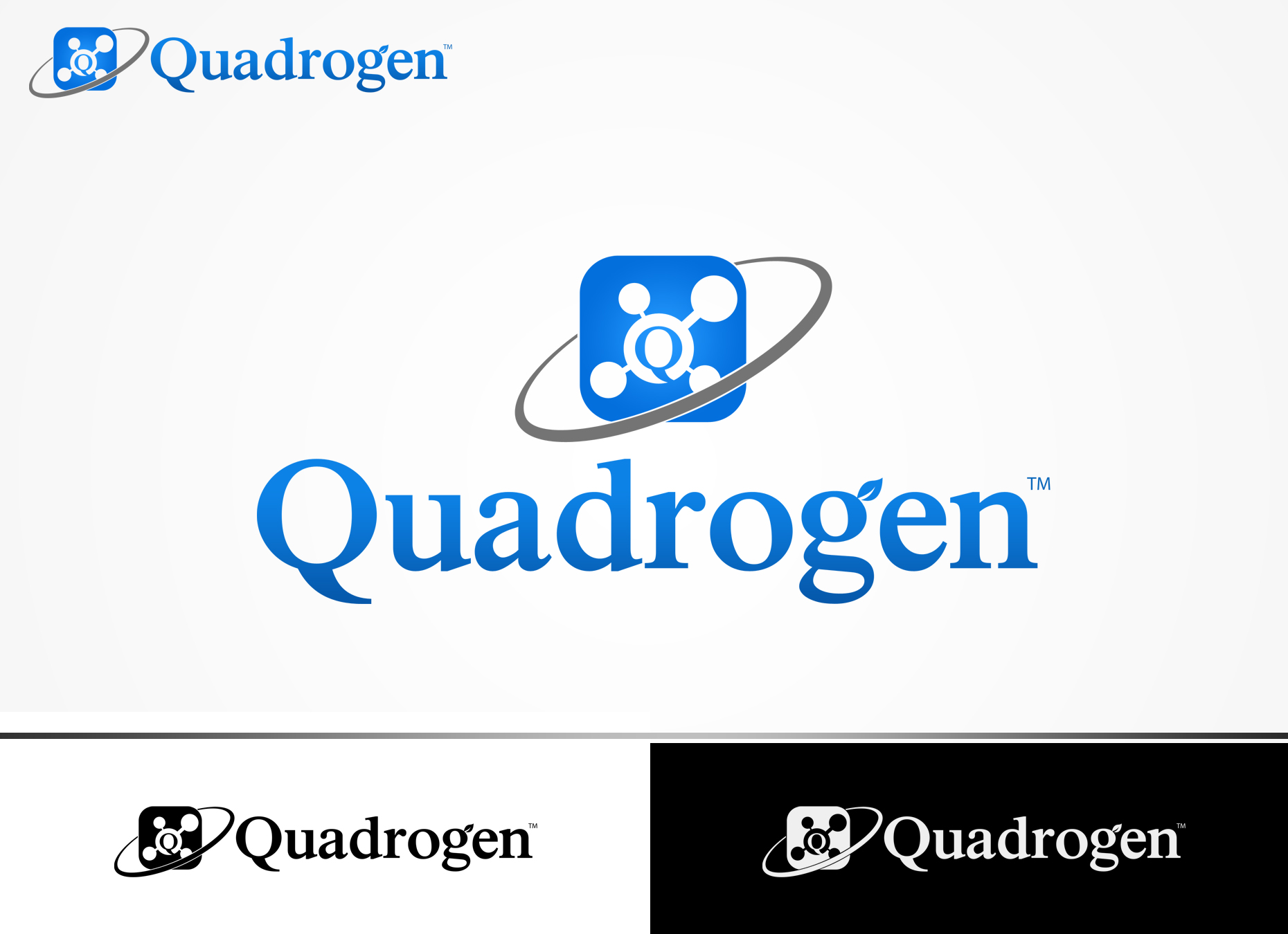 Logo Design by omARTist - Entry No. 132 in the Logo Design Contest New Logo Design for Quadrogen Power Systems, Inc.