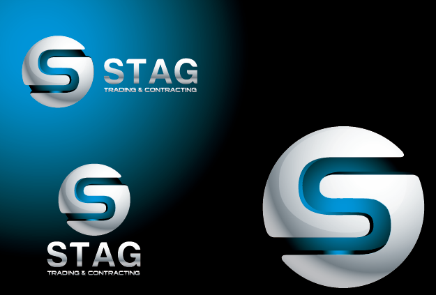 Logo Design by Private User - Entry No. 268 in the Logo Design Contest Captivating Logo Design for STAG Trading & Contracting.