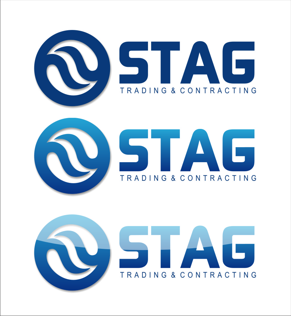 Logo Design by RoSyid Rono-Rene On Java - Entry No. 273 in the Logo Design Contest Captivating Logo Design for STAG Trading & Contracting.