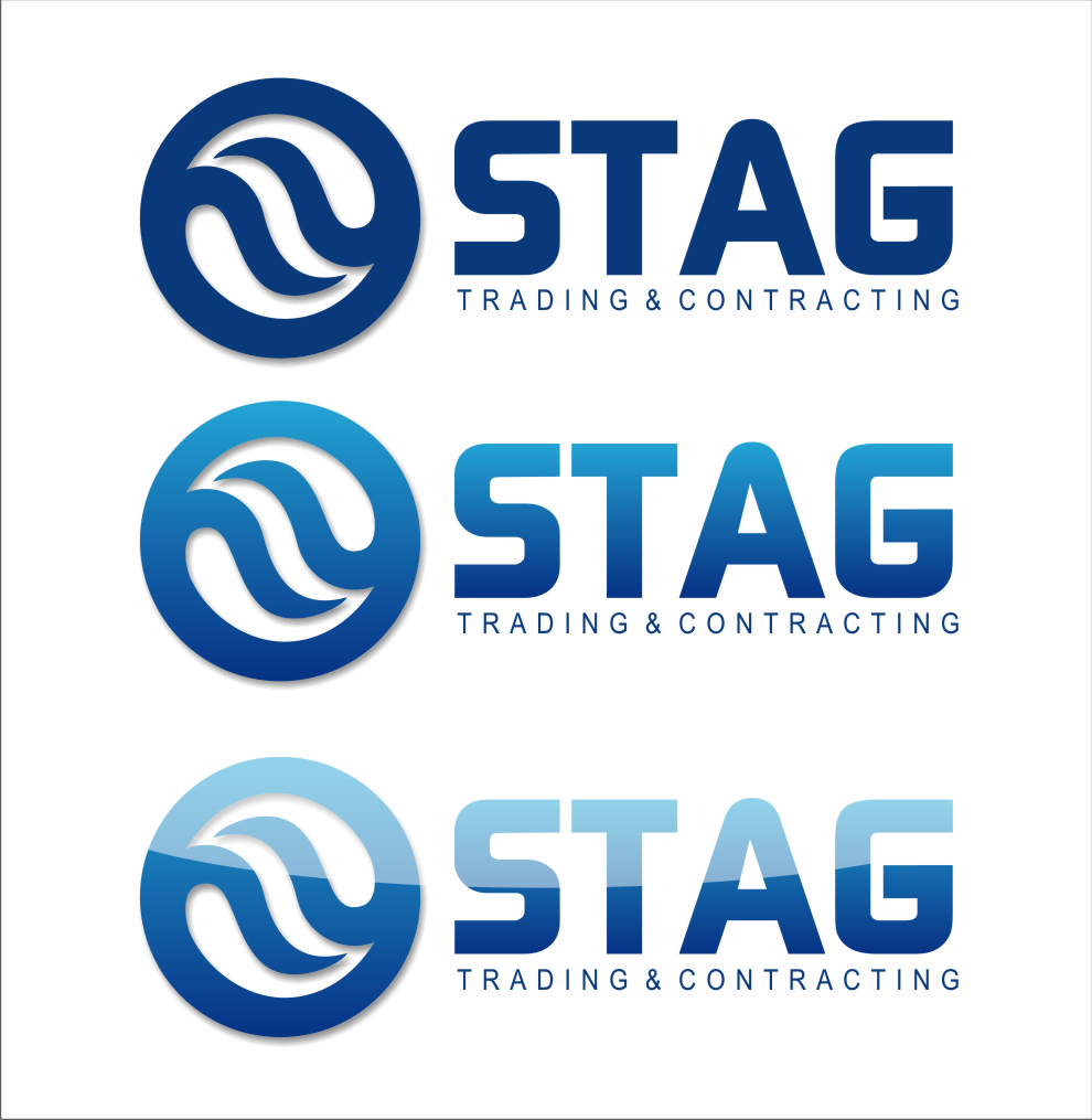 Logo Design by Ngepet_art - Entry No. 274 in the Logo Design Contest Captivating Logo Design for STAG Trading & Contracting.