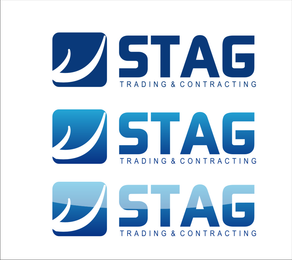 Logo Design by RasYa Muhammad Athaya - Entry No. 275 in the Logo Design Contest Captivating Logo Design for STAG Trading & Contracting.