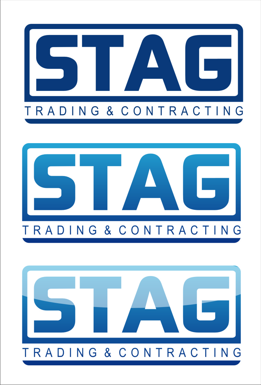 Logo Design by Ngepet_art - Entry No. 276 in the Logo Design Contest Captivating Logo Design for STAG Trading & Contracting.