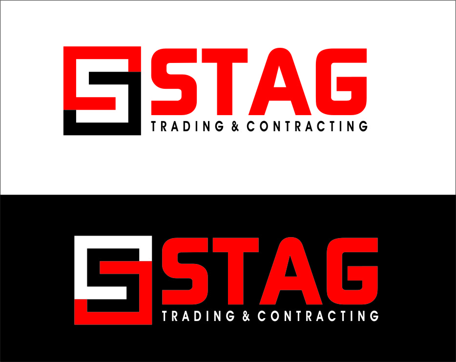 Logo Design by RasYa Muhammad Athaya - Entry No. 277 in the Logo Design Contest Captivating Logo Design for STAG Trading & Contracting.