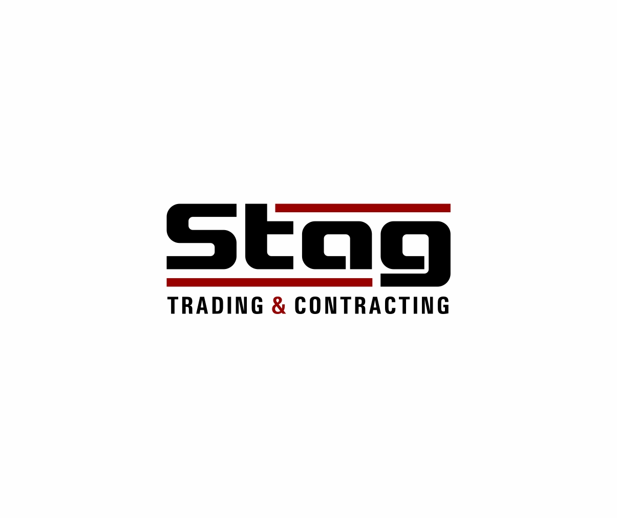Logo Design by haidu - Entry No. 278 in the Logo Design Contest Captivating Logo Design for STAG Trading & Contracting.